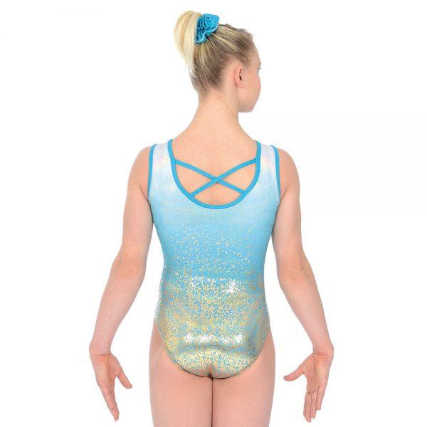 Aura Sleeveless Gymnastics Leotard