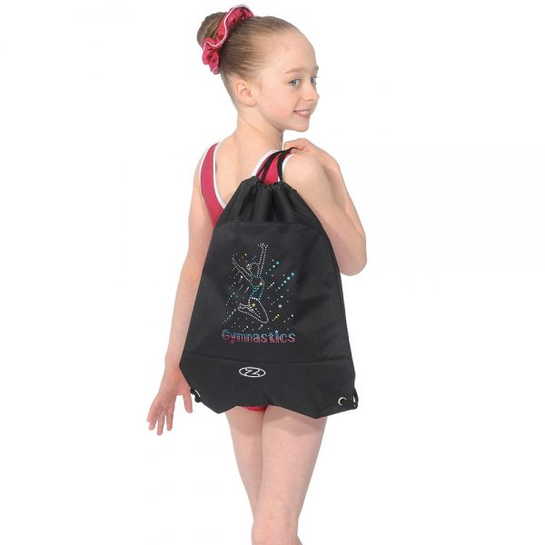Gymnastic drawstring bag