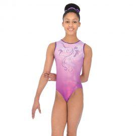 Mirage Sleeveless Gymnastics Leotard