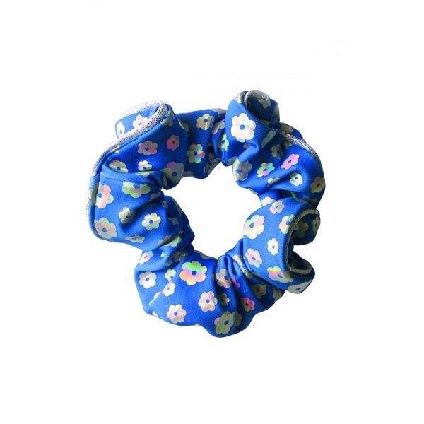 Poppy Hair Scrunchie