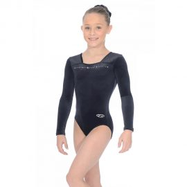 Sparkle Long Sleeved Gymnastics Leotard
