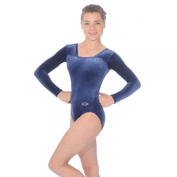 Sparkle Long Sleeved Gymnastics Leotard