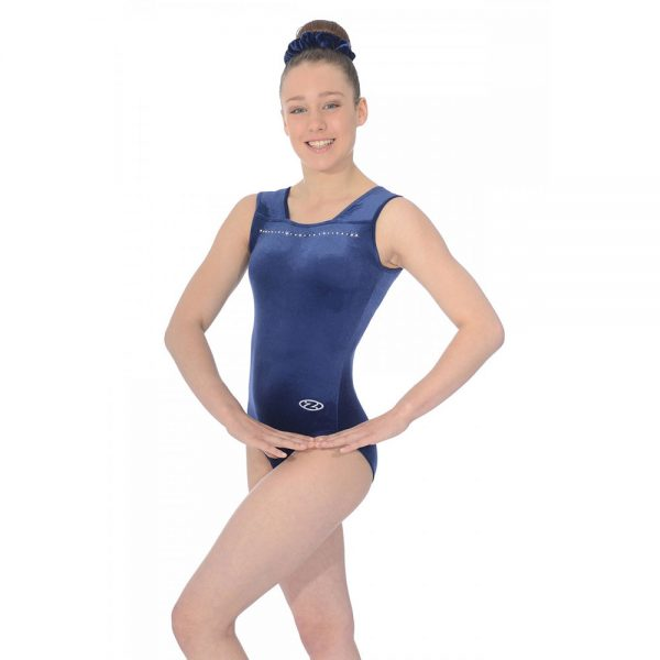 Sparkle Sleeveless Gymnastics Leotard